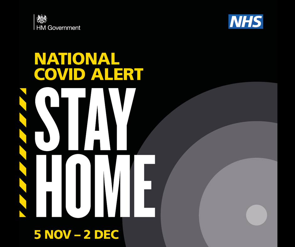 Stay at home. Save Lives.