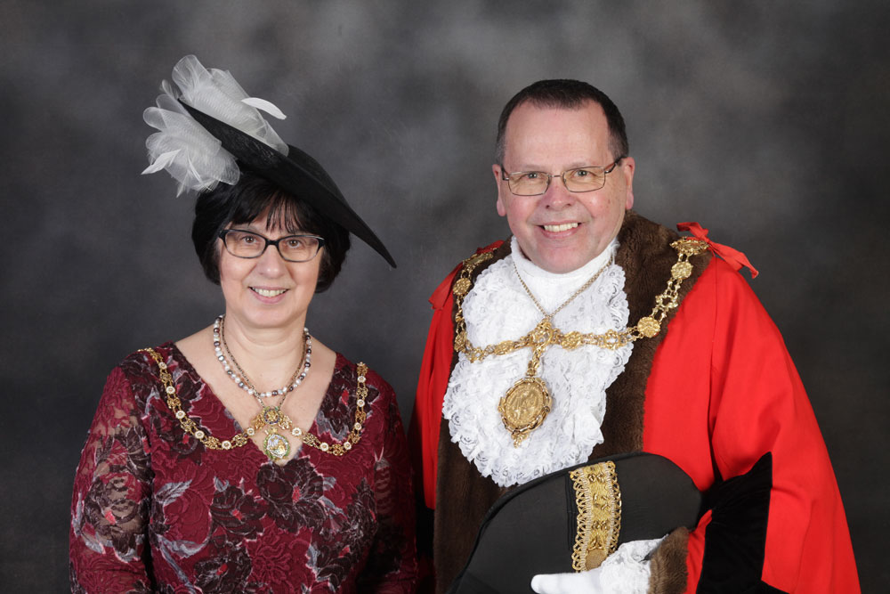 Cllr Joe Plant and Mrs Margaret PLant