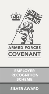 Armed Forces Covenant Employer Silver Award
