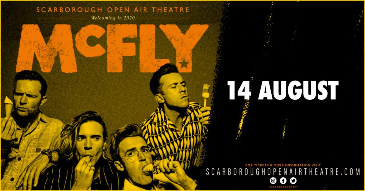 McFly - Open Air Theatre - 14 August 2020