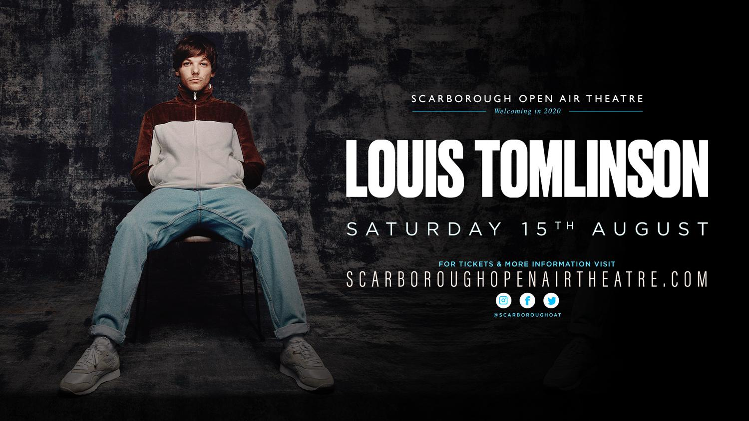 Louis Tomlinson show promotional graphic