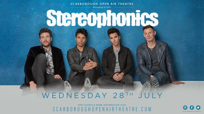 Promotional graphic for Stereophonics show