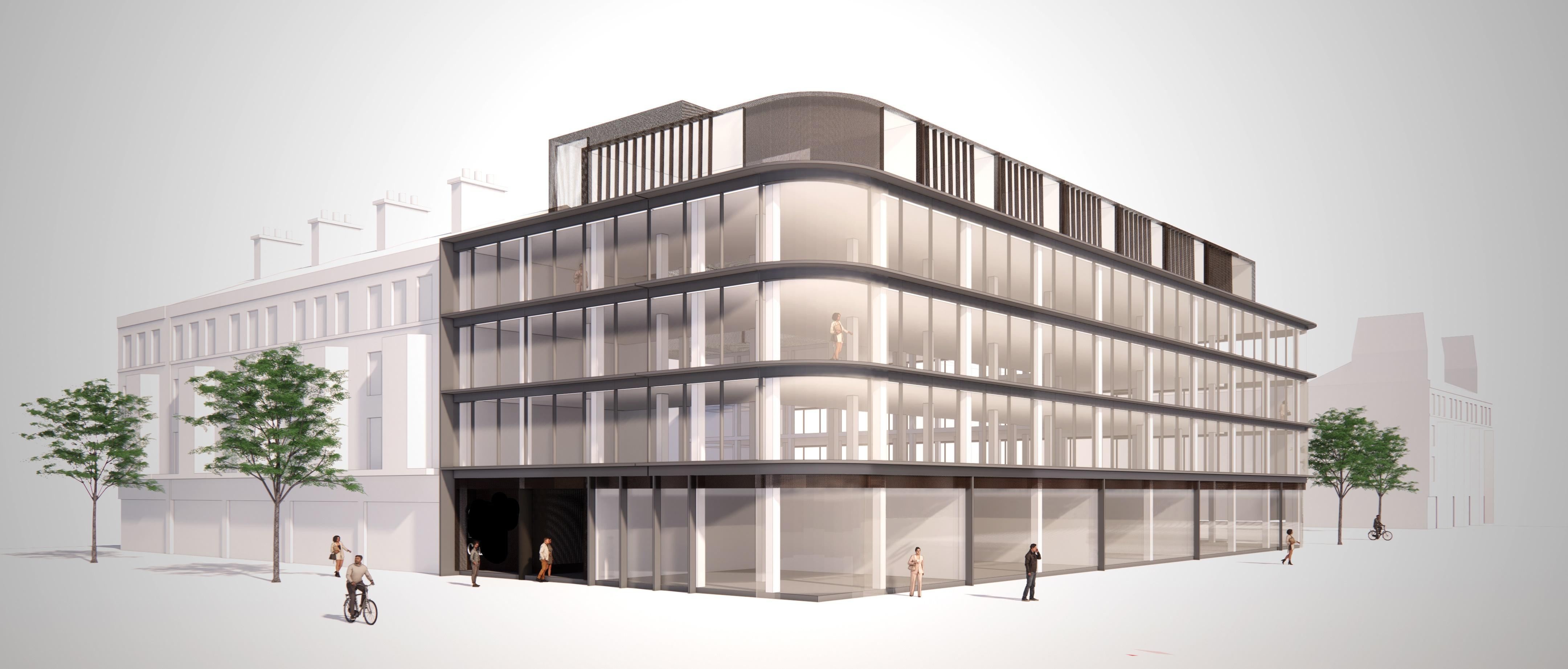 An artist's impression of how Pavilion House in Scarborough could look