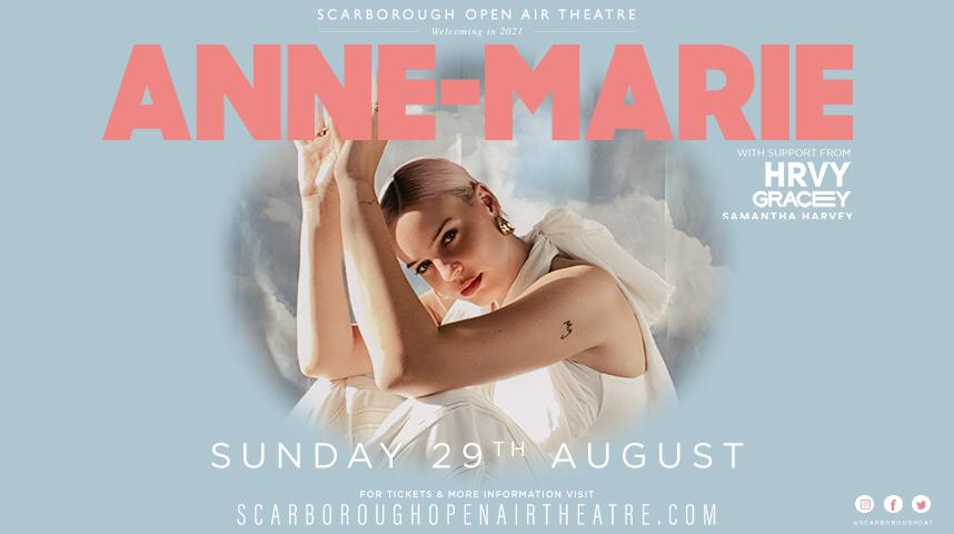 Promotional graphic for Anne-Marie show