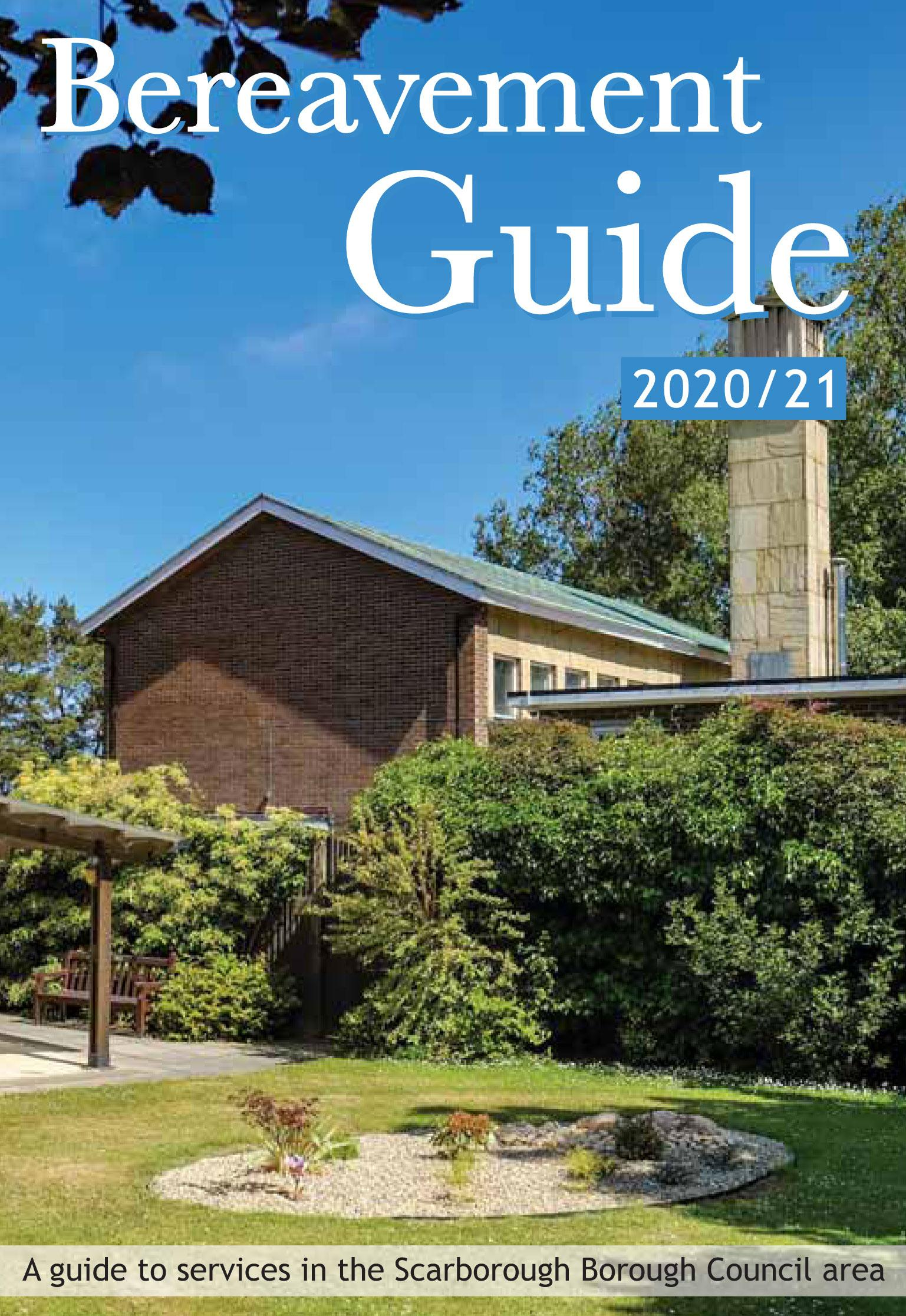 Bereavement Guide front cover 2021