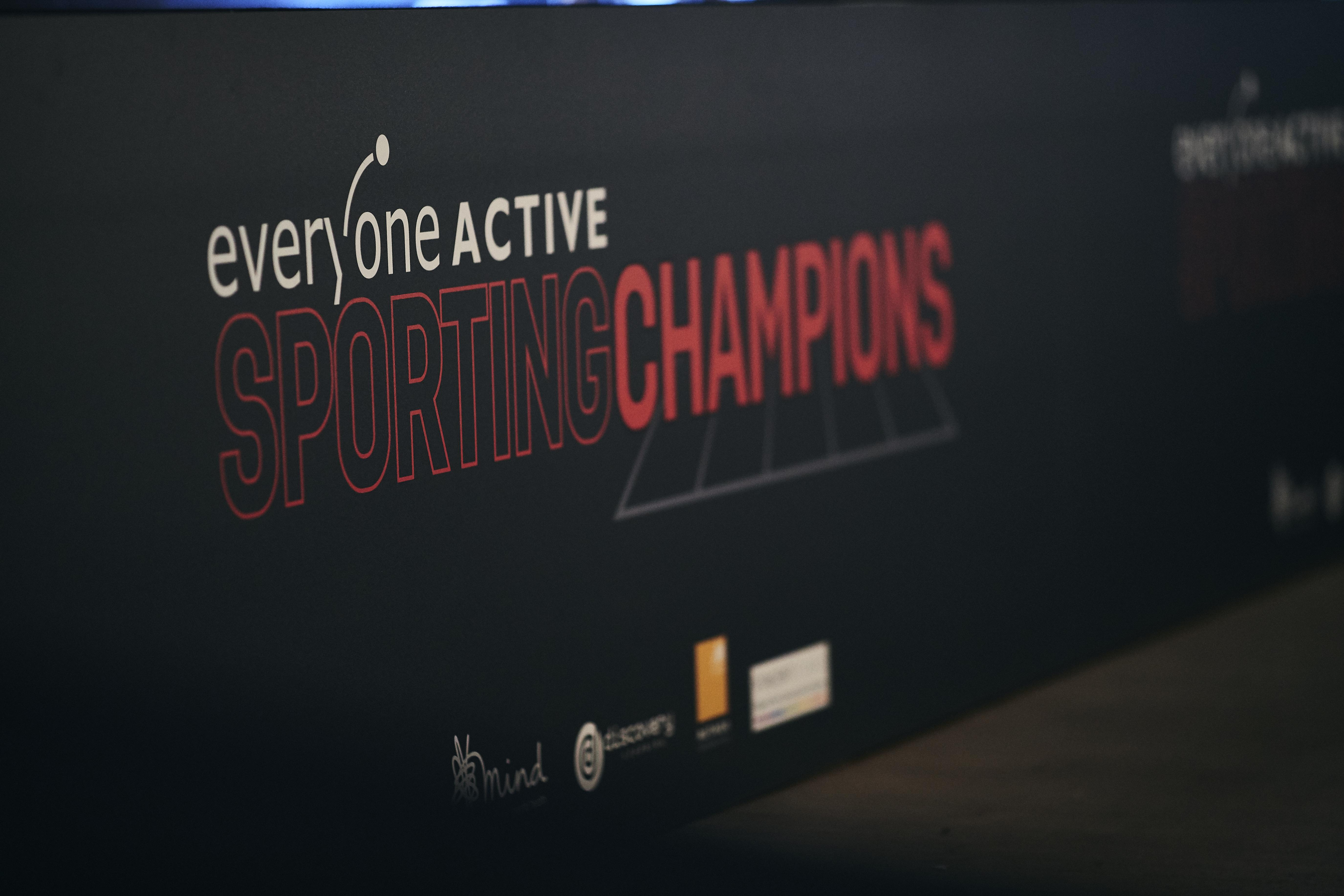 Everyone Active Sporting Champions logo