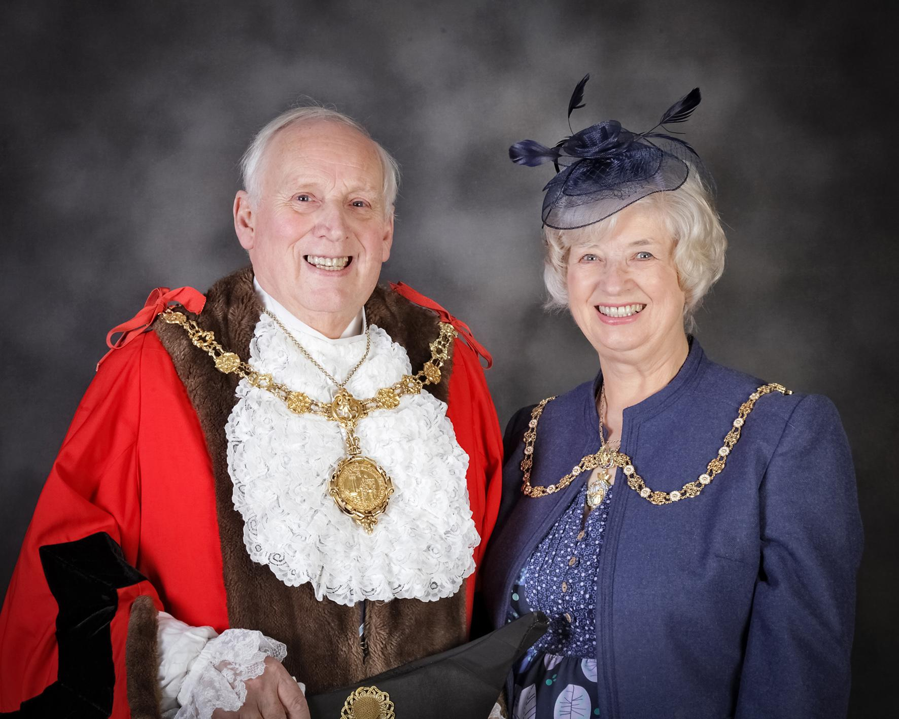 Picture of Mayor and Mayoress of the Borough of Scarborough for 2017 to 2018