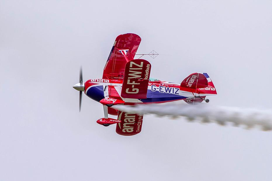 Picture of Muscle Biplane. Picture credit: Rich Goodwin Airshows