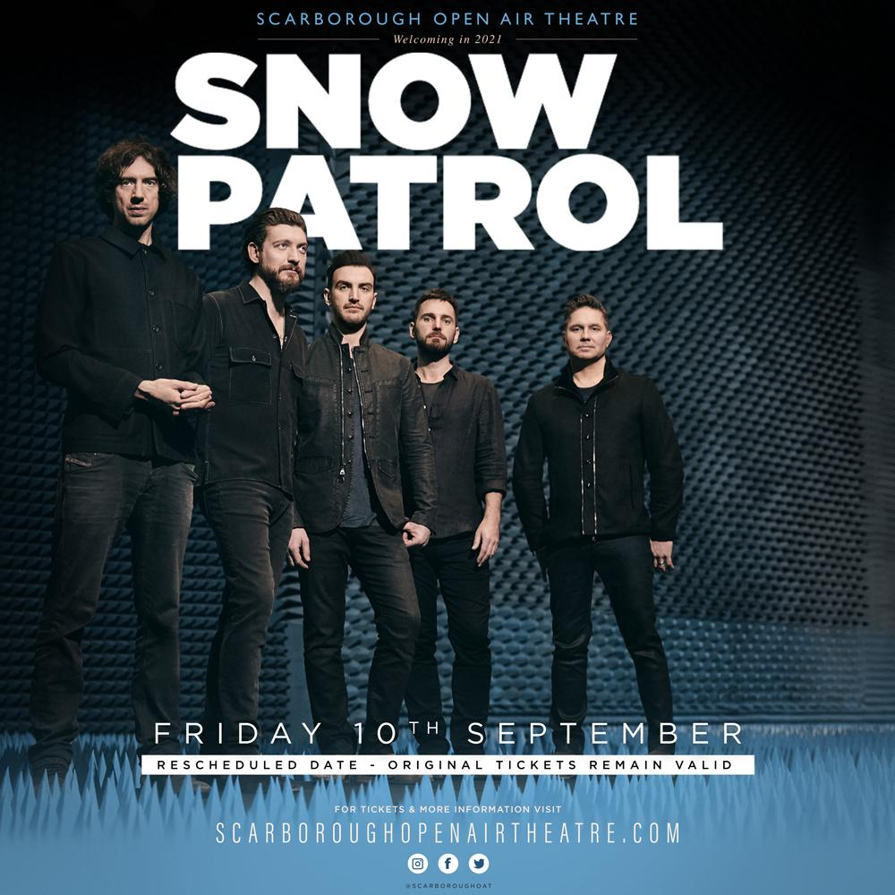 Snow Patrol at the Open Air Theatre - 2 September 2021