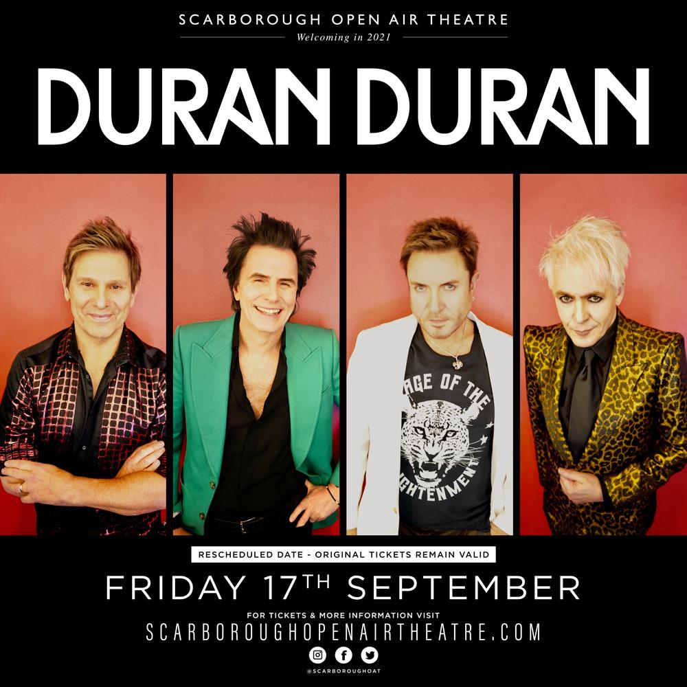 Duran Duran at the Open Air Theatre - 17 September 2021