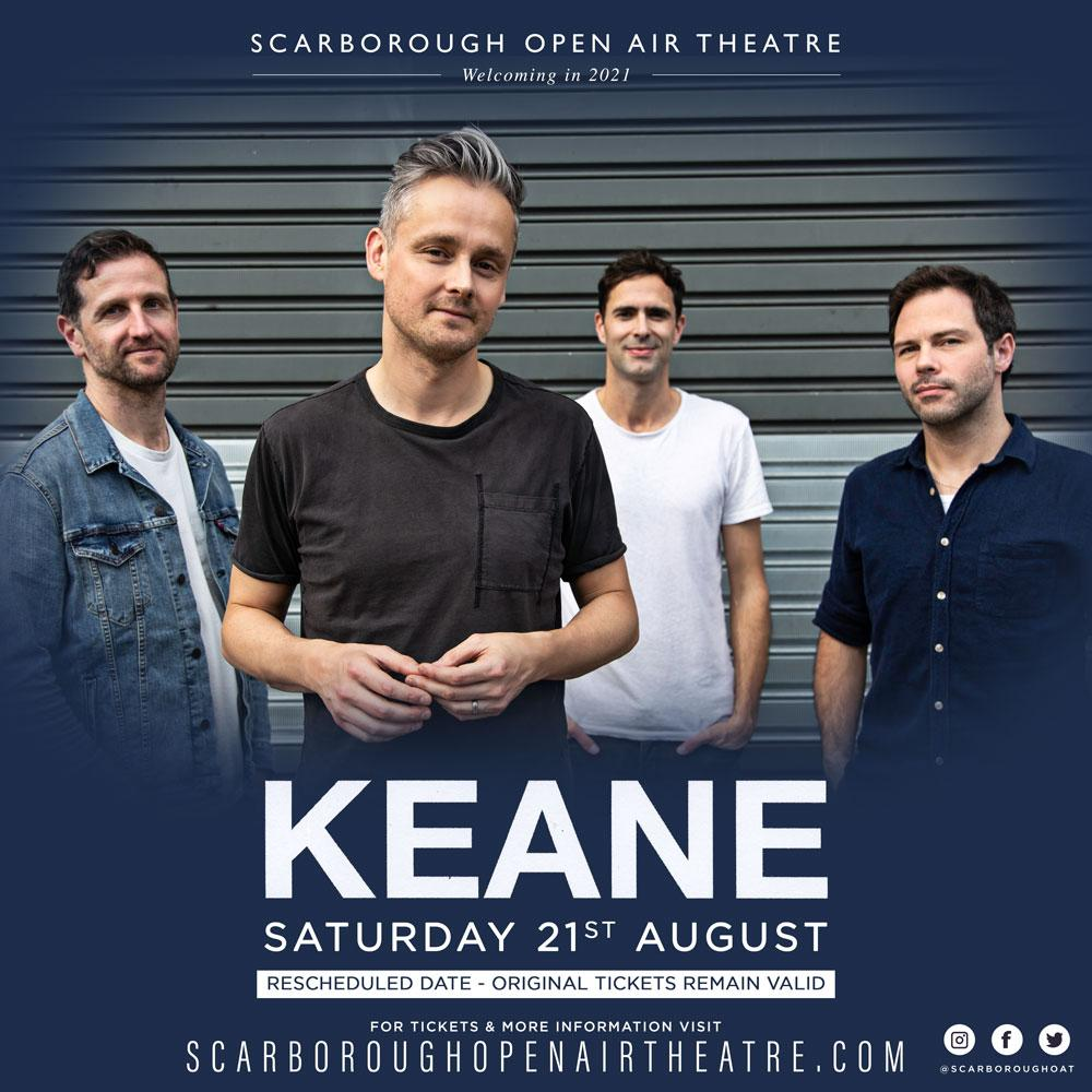 Keane at the Open Air Theatre - 21 August 2021