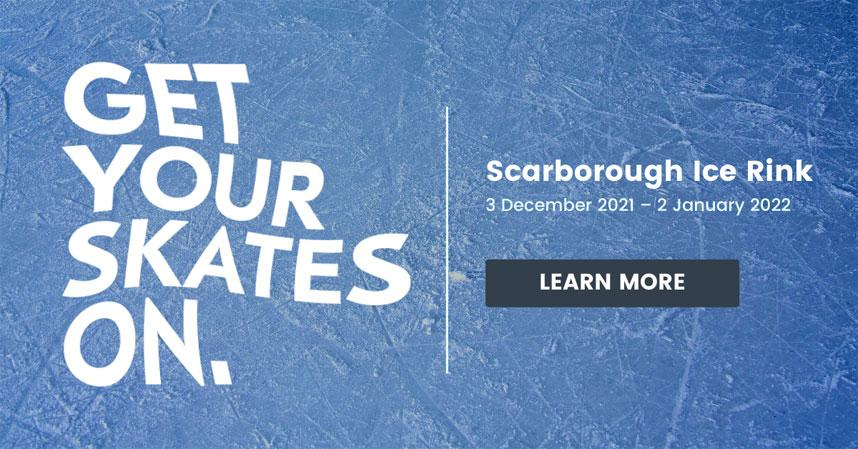 Scarborough Ice Rink 3 December - 2 January 2022 learn now
