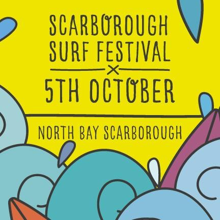 Scarborough Surf Festival poster