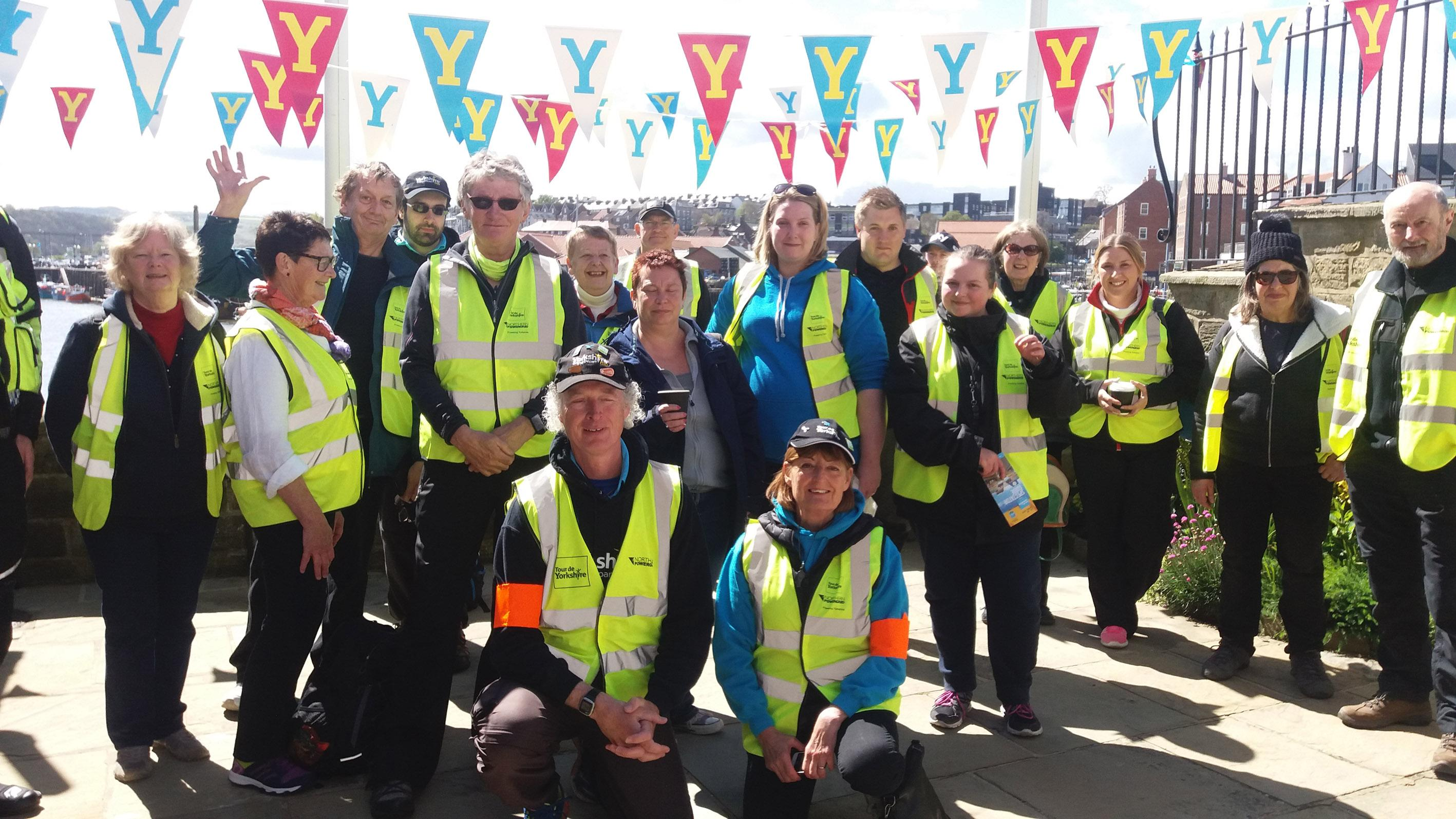 Picture of tour makers during a previous edition of Tour de Yorkshire