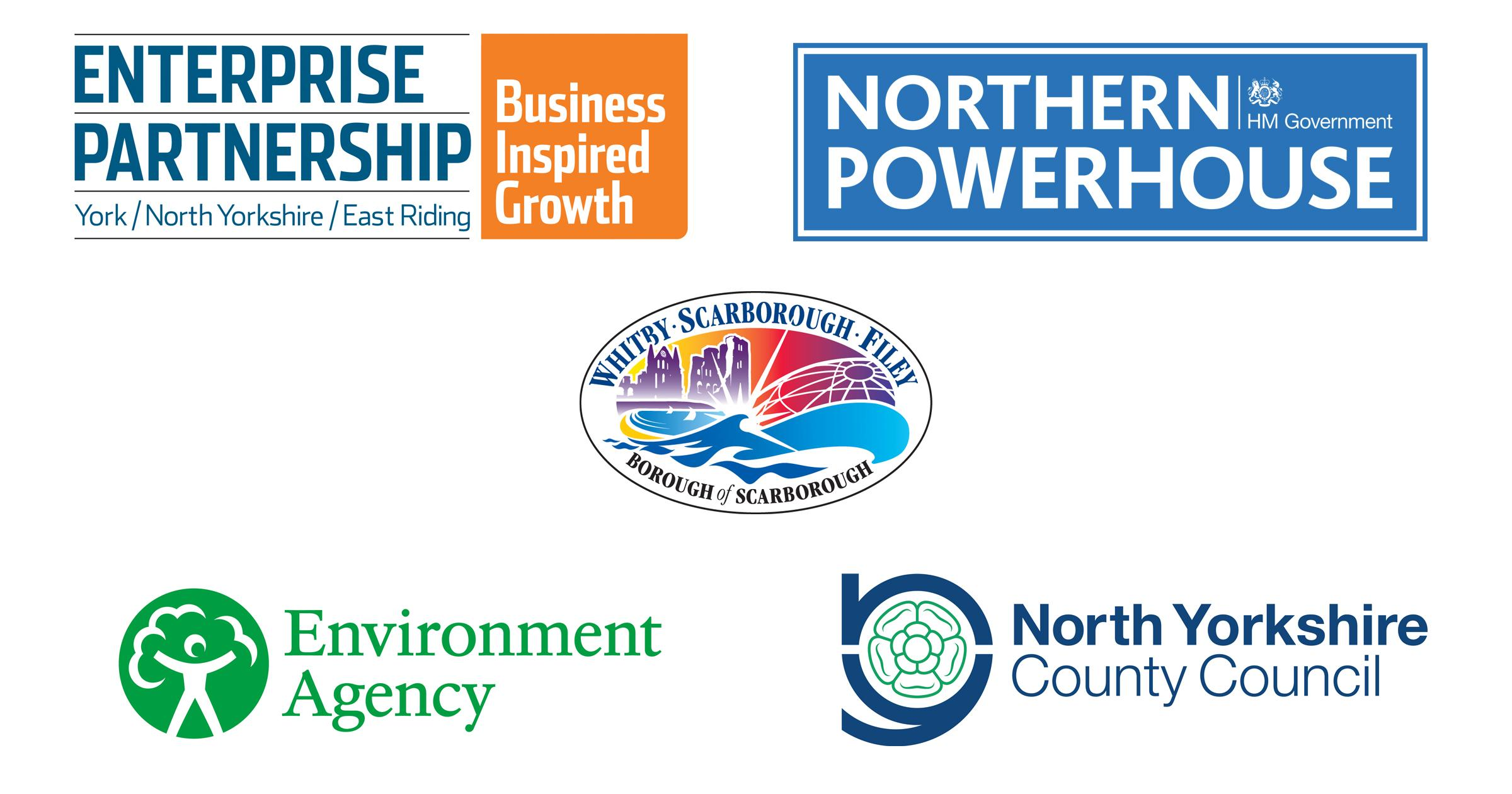 Logos of the five organisations funding the scheme
