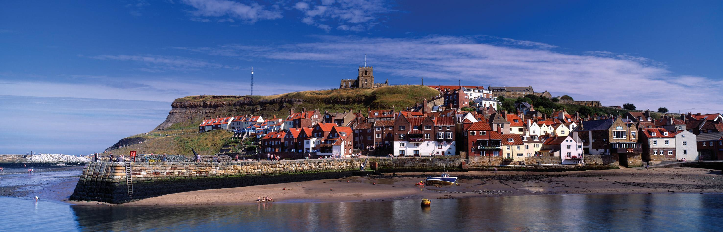 Picture of Whitby harbour - credit: Mark Denton Photographic