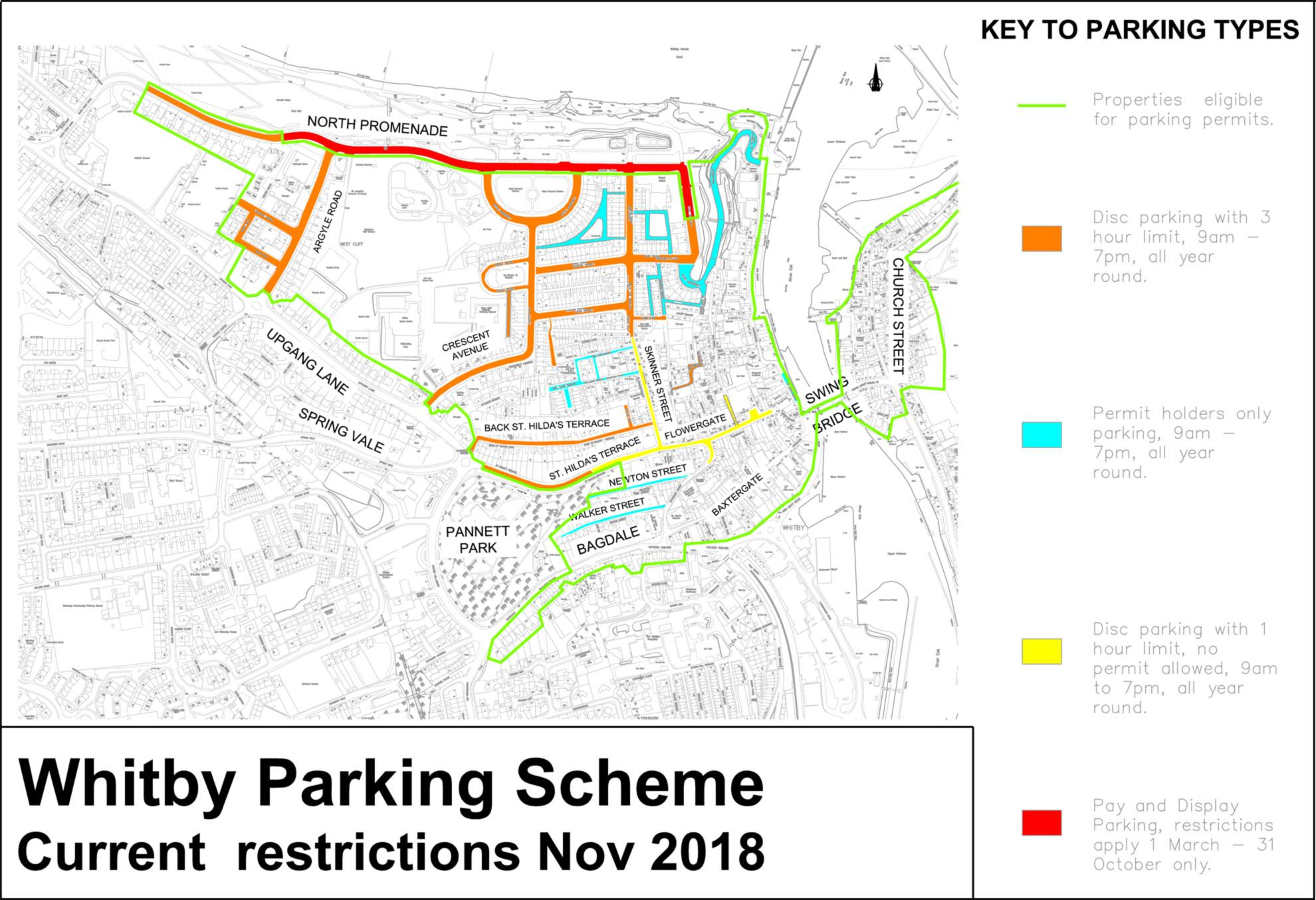 Whitby Parking Zones