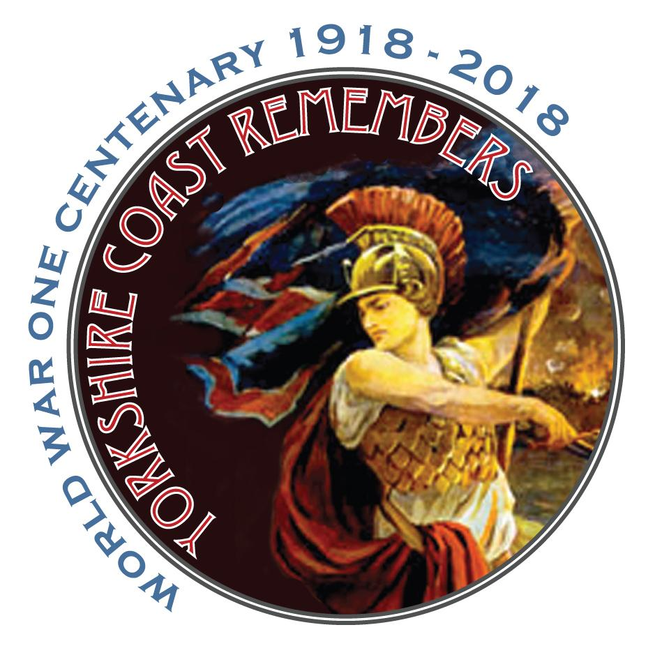 Image of logo created to illustrate the Yorkshire Coast Remembers project