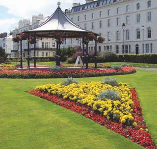 Glen and Crescent gardens, Filey