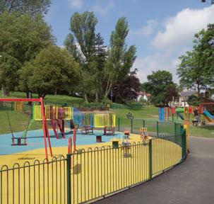 Falsgrave park play area