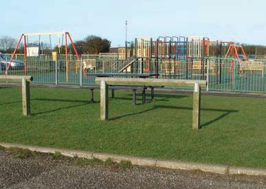 Filey country park play area