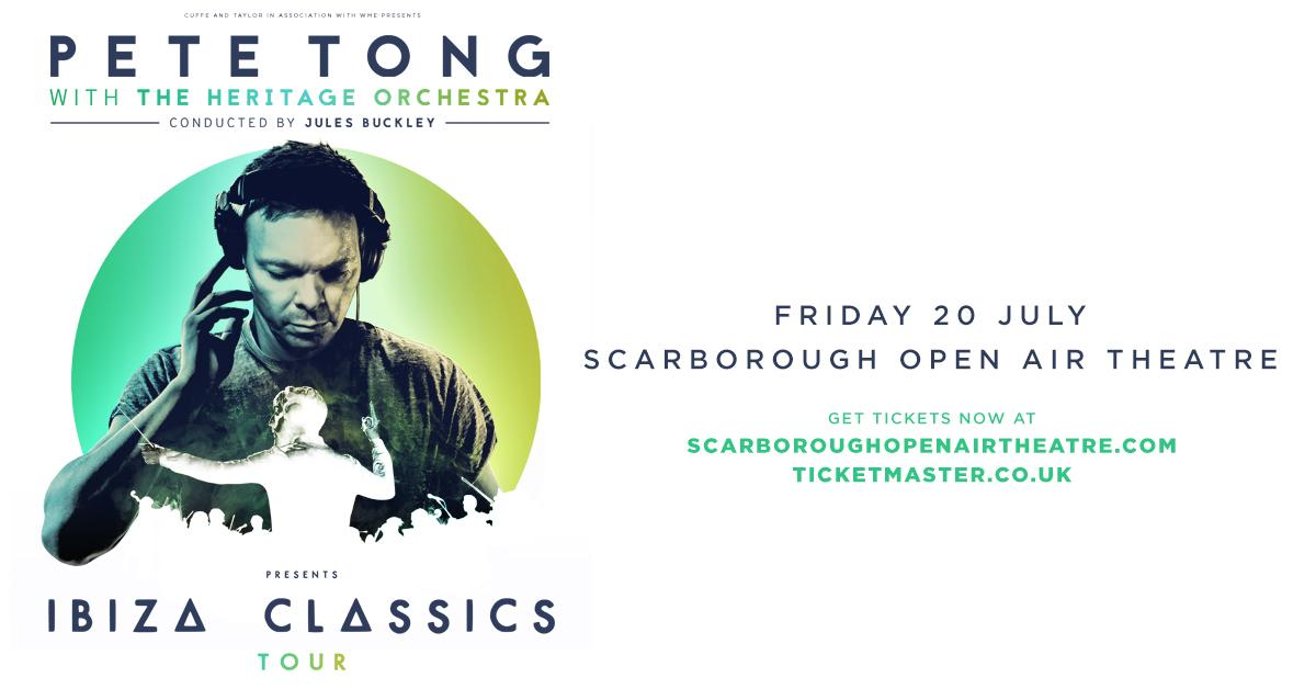 Pete tong with the heritage orchestra scarborough gov uk for Ibiza proms cd
