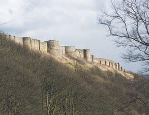 Scarborough Castle walls