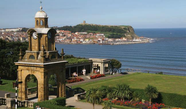 South Cliff Gardens and the Clock Tower