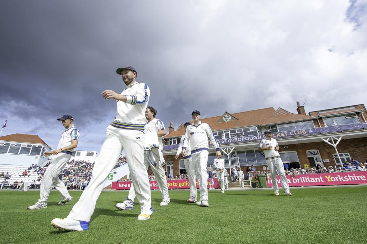 Picture of cricket at Scarborough - Yorkshire v Essex