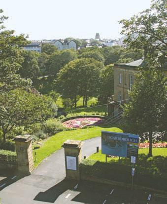 Valley gardens and art gallery